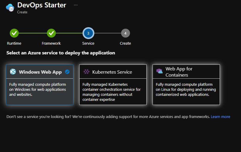 DevOps Starter step 3